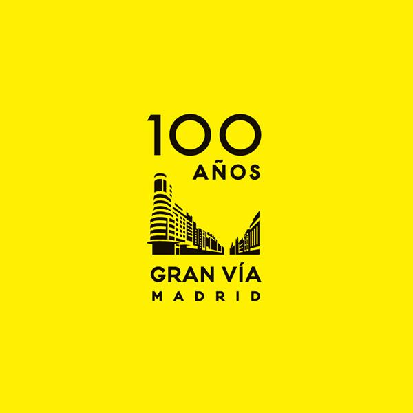 Centenario Gran Vía madrid Catalá Roca  gran via