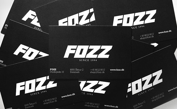 Fozz Logo Design Identity And Limited Clothing Line On Behance