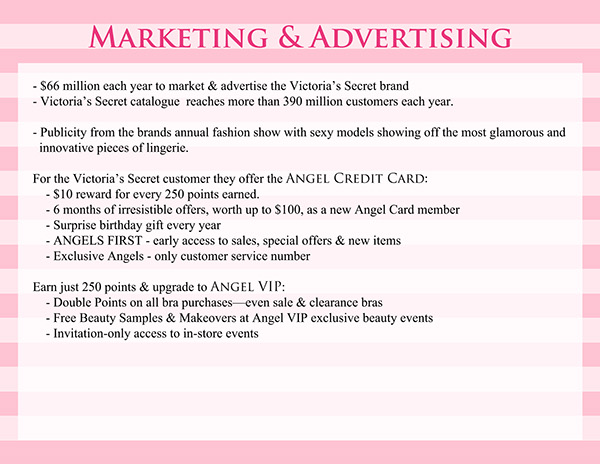 victoria secret communication strategy The world-famous underwear brand victoria secret is spreading in china  media communication,  by implementing the most effective digital strategy to offer.