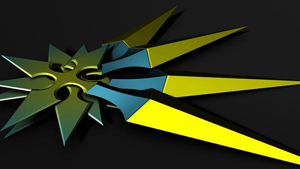 Kingdom Hearts Weapons on Behance