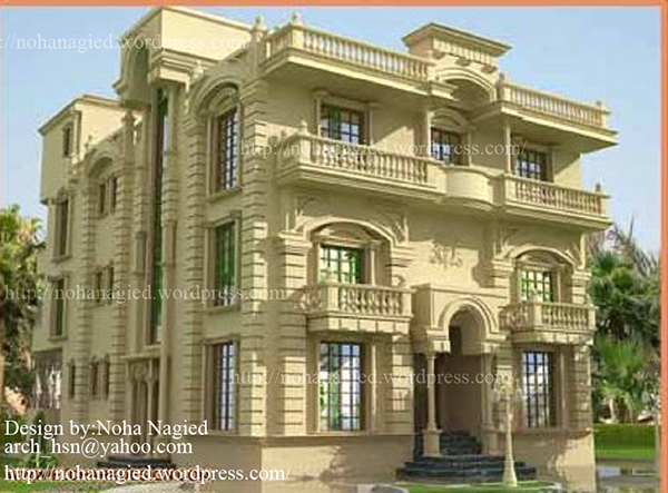 Classic Villa On Behance