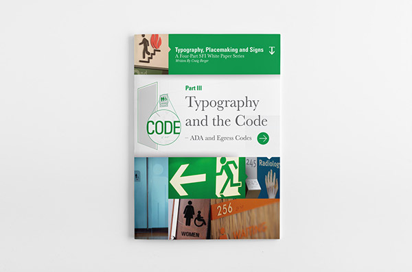 Typography Whitepaper Page Design