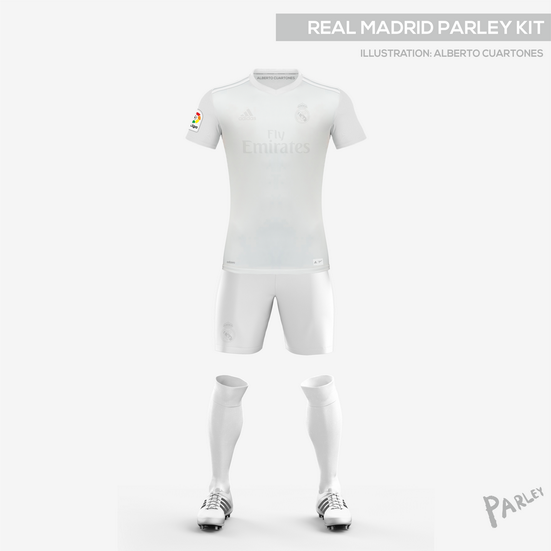 huge discount cf54e c738c Real Madrid Parley Kit on Behance