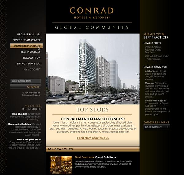 hotel Hospitality Online Community