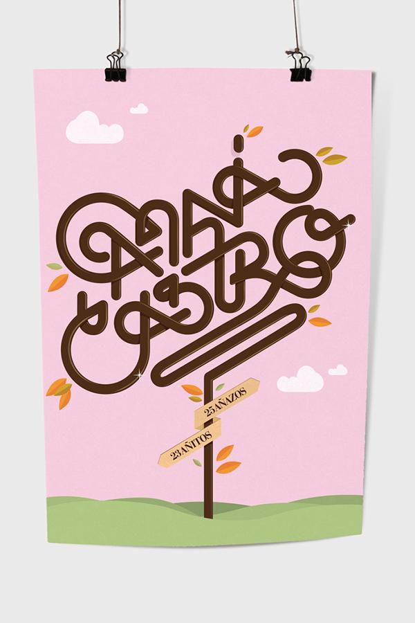 amaia castro  jabier rodriguez tipografia la ley de kernin diseño donosti Donosti kerning basque country