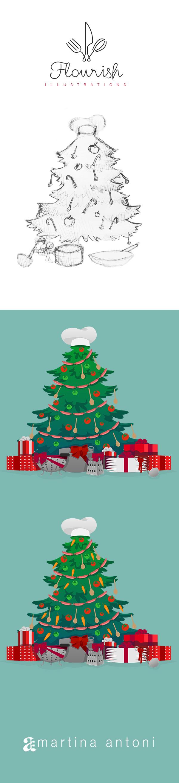 Flourish - Christmas Greetings on Wacom Gallery