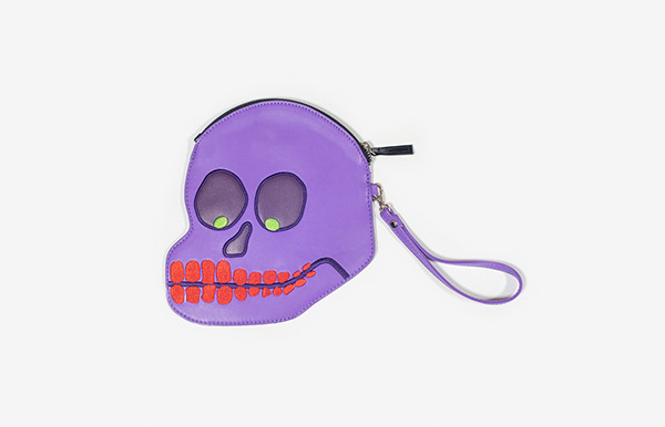 Skull Purse / David Shrigley