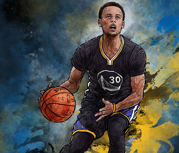 Stephen Curry On Behance