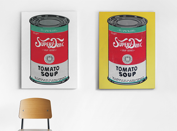 Andy Warhol Inspired