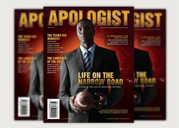 Apologist Church Magazine Cover Template on Behance