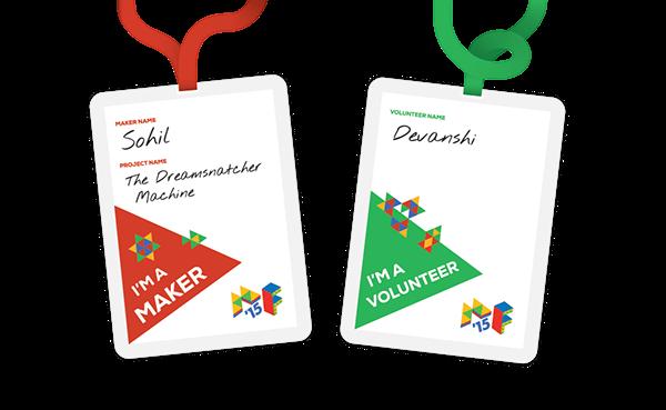 Maker Fest identity Website India