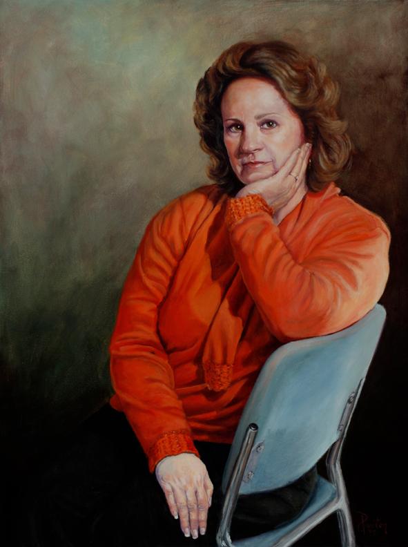 portraits acrylic characoal pastel