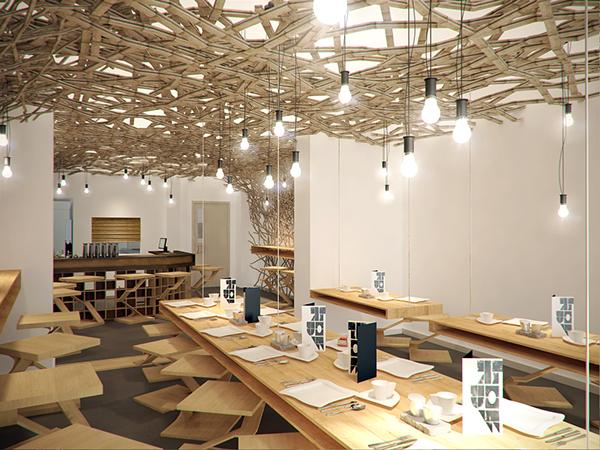 The scandinavian restaurant on behance