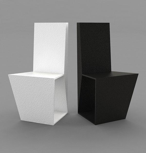 Deconstruct D Chair Series On Behance
