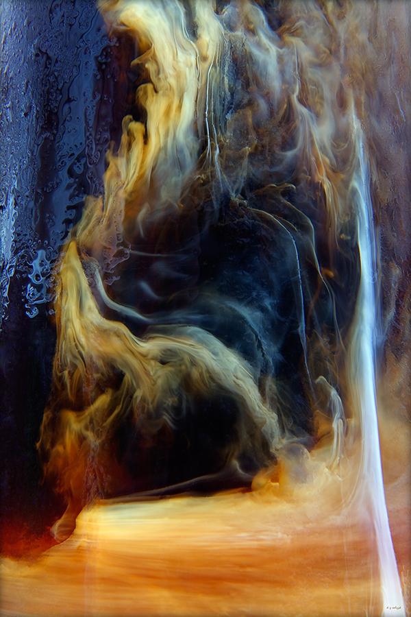 fine art Macro Photography coffe java abstract