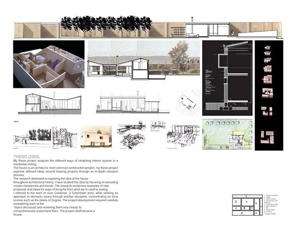 Portfolio Work Experience Architecture Interior Design
