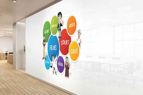 WALL GRAPHICS FOR CARNIVAL GROUP OF COMPANIES On Behance