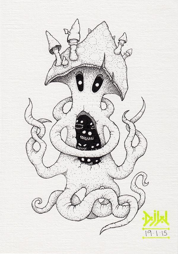 mushroom Fungoid monster demon