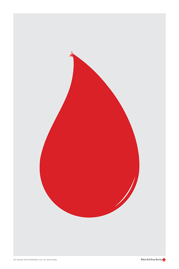 indian red cross society gift blood on behance