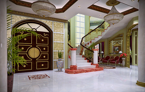 villa interior series 03 arabic style 3d on adweek