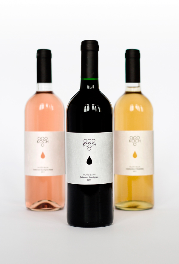 Koch wine label on behance for Koch 3 winde