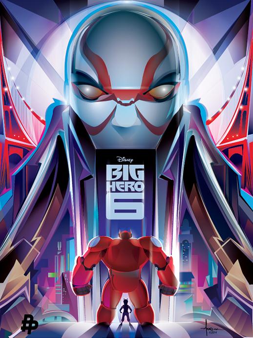BIG HERO 6 Vector Tribute by Orlando Arocena