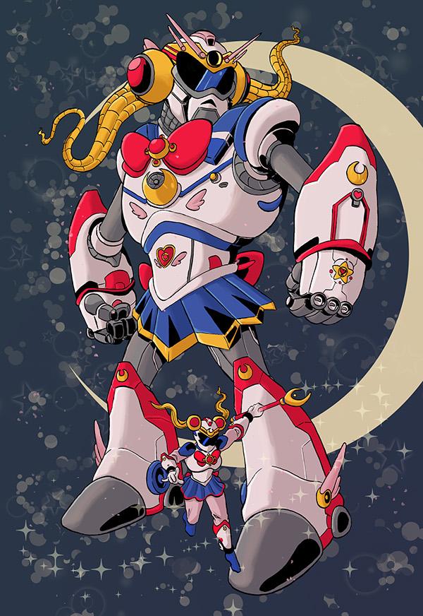 Character Design Challenge Sailor Moon : Sailor moon character design challenge on scad portfolios