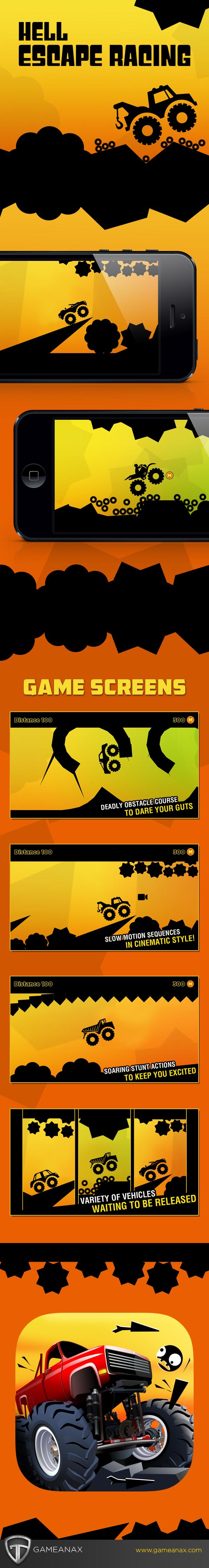 UI ux game mobile graphics