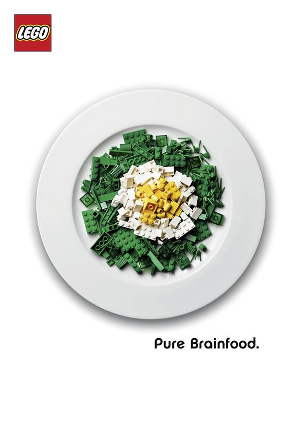 LEGO Pure Brainfood LEGO Ad