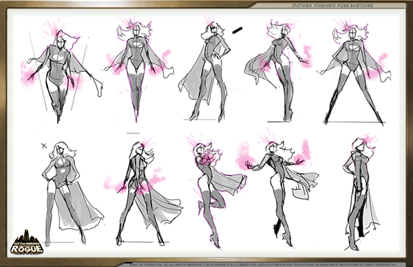 production artcity of heroes on behance