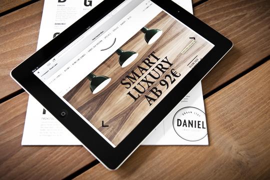 Hotel daniel web design on behance for Design hotel daniel campanella