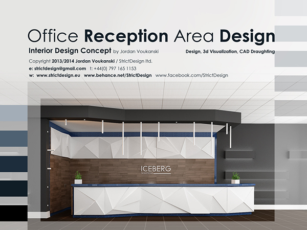 Office Reception Area Interior Design Concept /2013/ on Behance