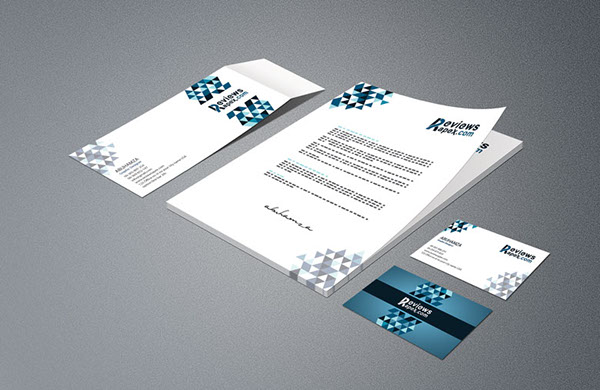 Business Card Letterhead Envelope Template Mockup Free On Behance