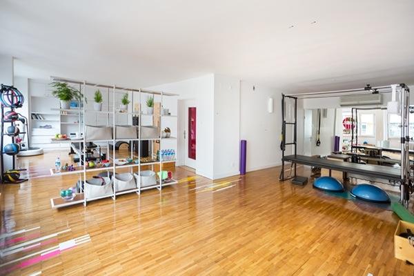 pilates studio design health spaces Sports Facilities graphics in architecture interiors