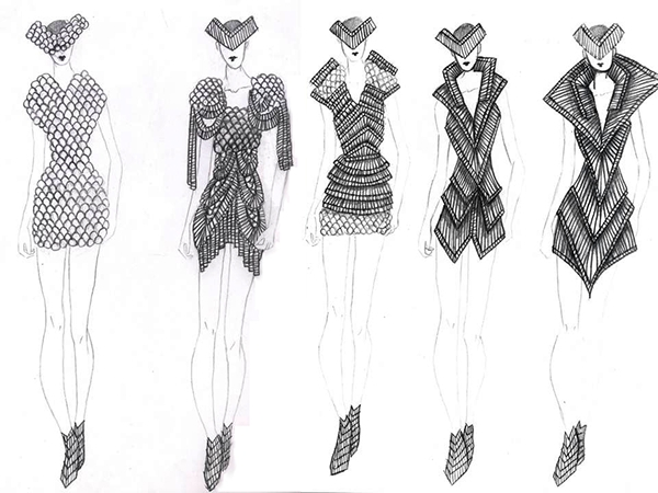 step 4 refine sketches and ideas - Fashion Design Ideas