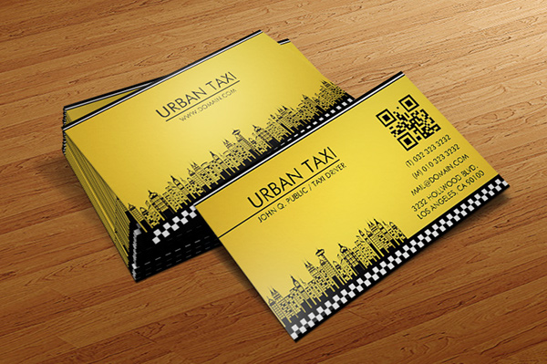 taxi driver business card template on behance. Black Bedroom Furniture Sets. Home Design Ideas