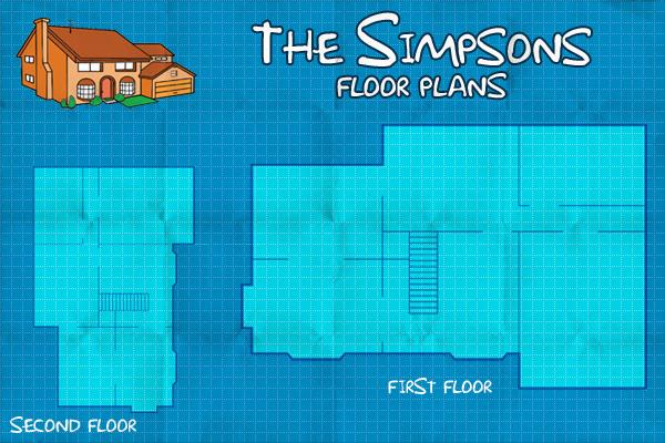 The Simpsons   Virtual Floor Plan on BehanceOpen link