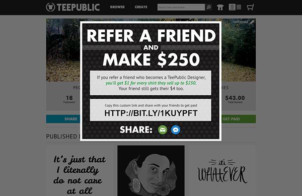 teepublic tees t-shirts network sharing t-shirt