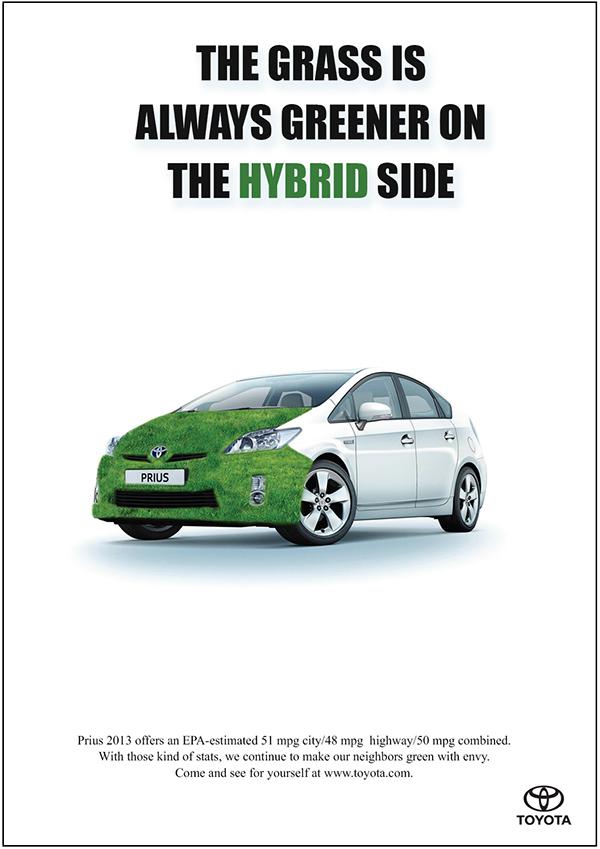 Toyota Prius Advertisement on Behance