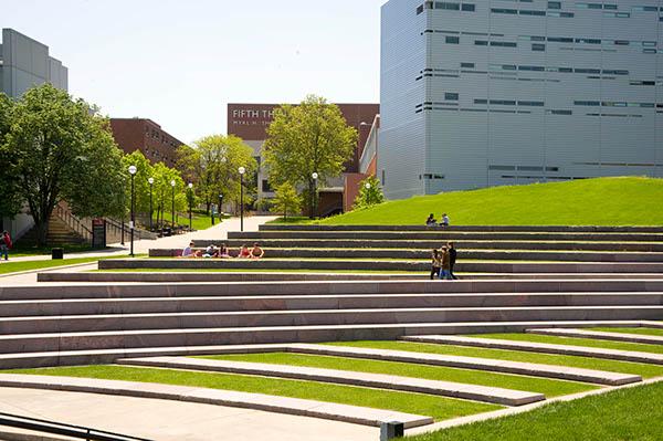 University of Cincinnati Ohio, Campus Green on The ...