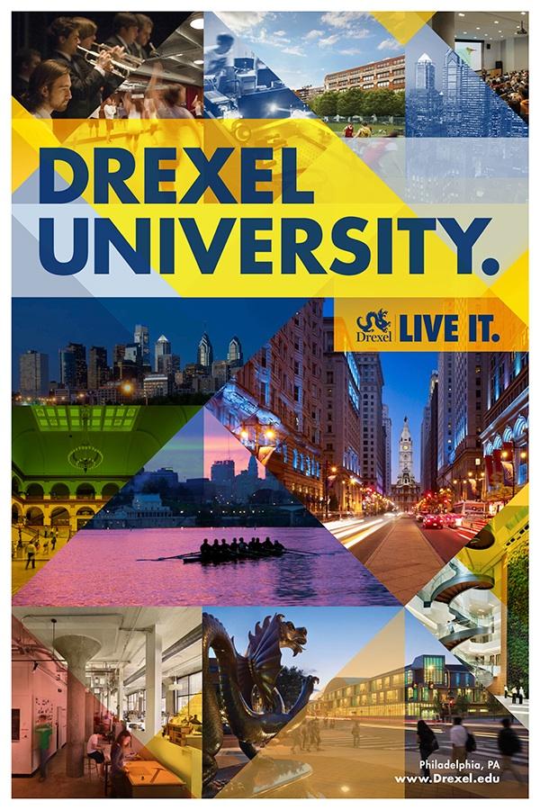 University Admission Posters Drexel University Admissions