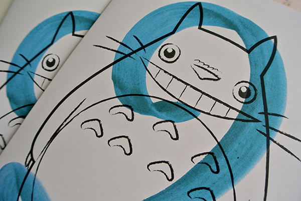 Totoro Birthday Card on Behance – Totoro Birthday Card