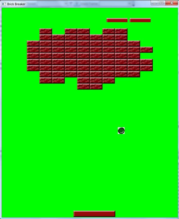 brick breaker code