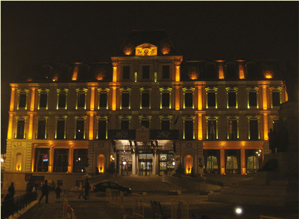Grand Hotel Traian Rebrand Project Proposal On Behance