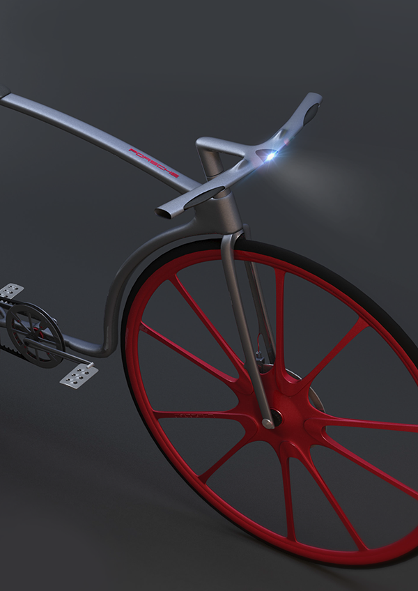 concept porsche bicycle on behance. Black Bedroom Furniture Sets. Home Design Ideas