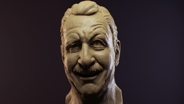 Expression Zbrush Sculpt