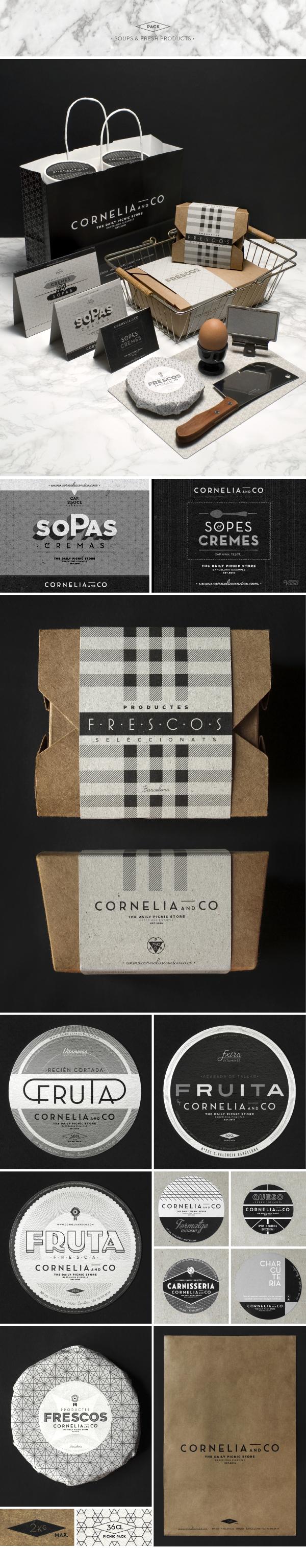 cornelia&co restaurant take away barcelona picnic Food  market backery Kraft Pack winery Coffee