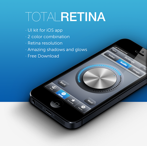 Total Retina UI Kit