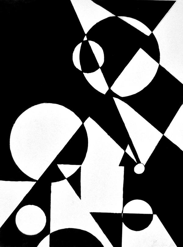 Principles Of Design Shape : Traditional art design portfolio on behance