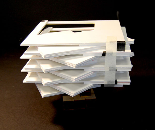 Study Model Made Out Of Foam Core